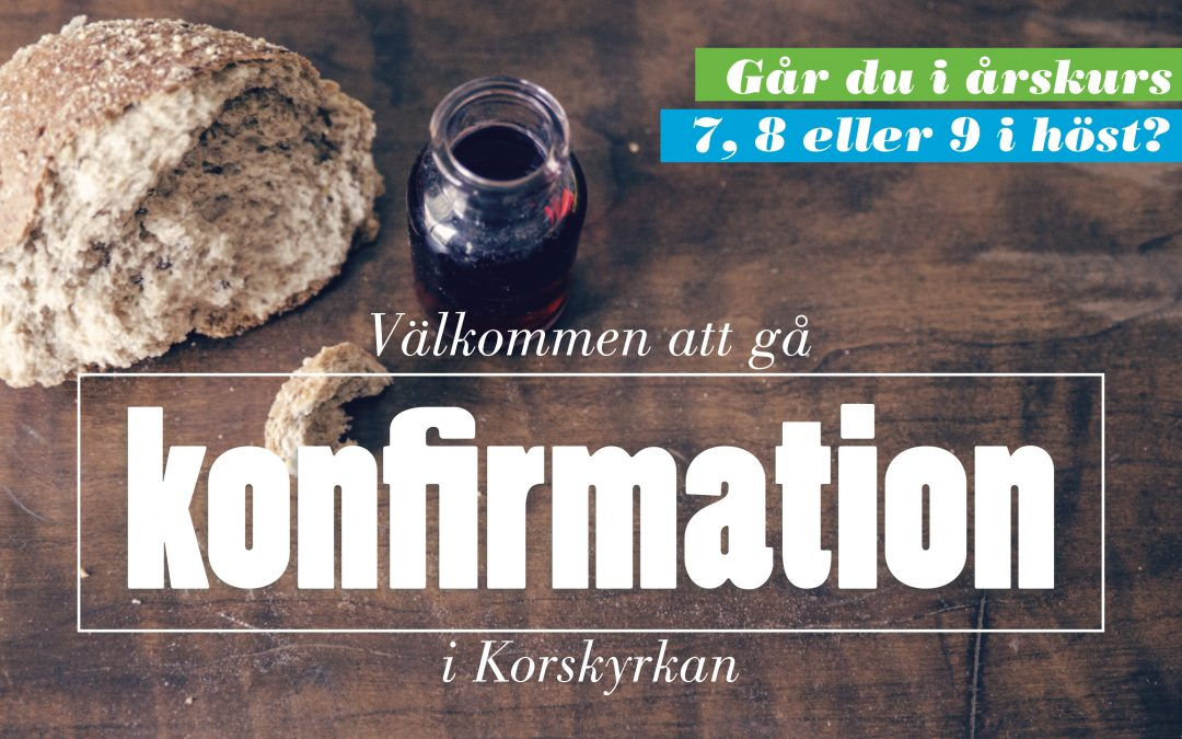 Konfirmation HT19-VT20