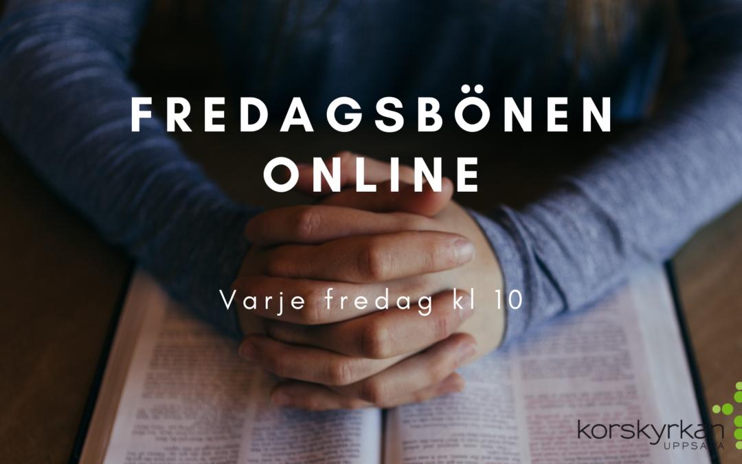 Fredagsbön online – varje fredag