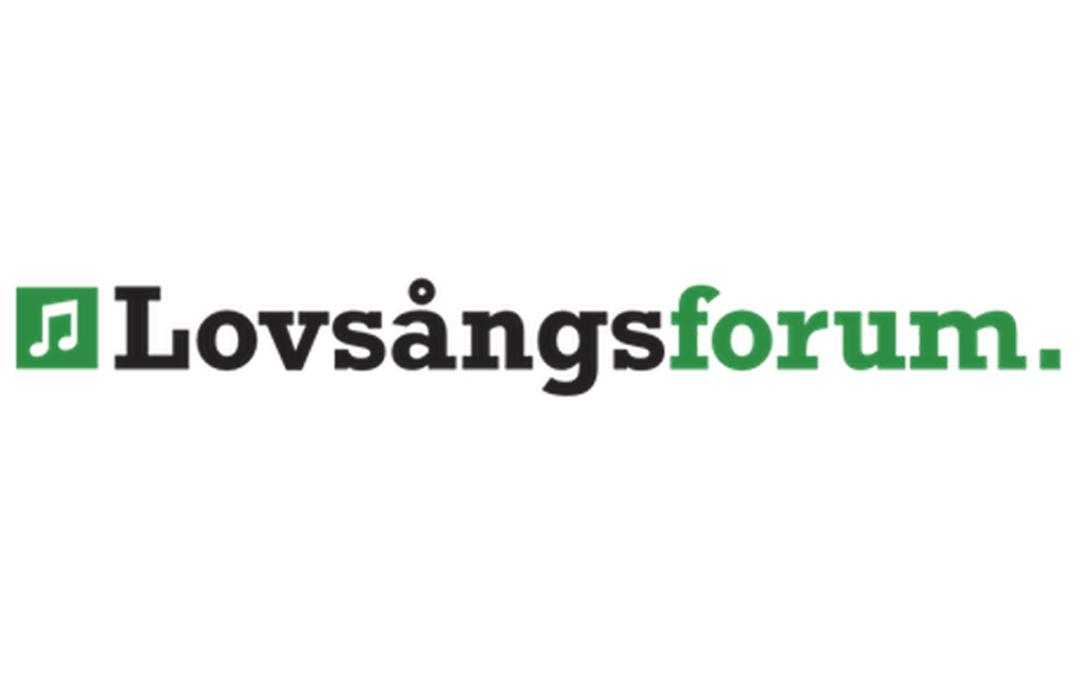 Lovsångsforum logotyp